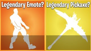 LEGENDARY EMOTES AND PICKAXES: WILL WE EVER SEE THEM IN FORTNITE?