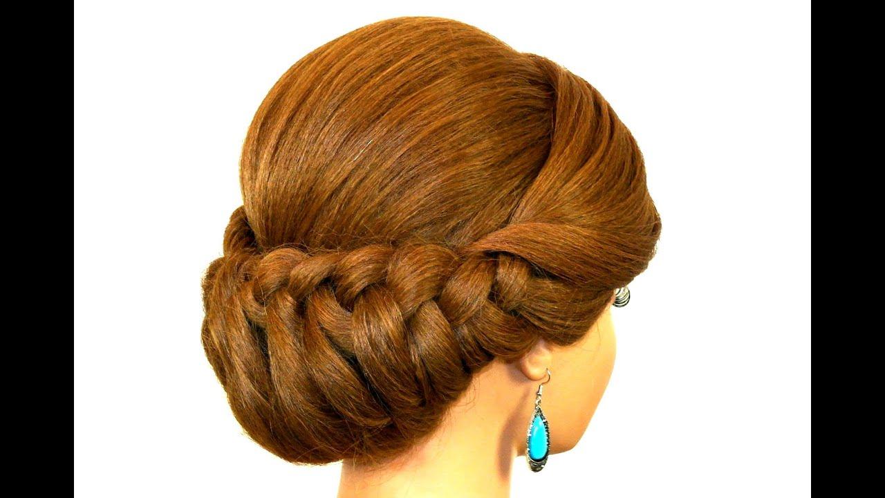Причёски лёгкого плетения