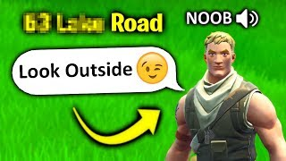 he found my address in fortnite (ends bad)