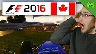 INSGESAMT SEHR UNSCHÖNER START   Kanada 1/2 🎮 F1 2016 #71