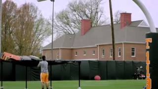Sweet home Alabama played at Tennessee football practice