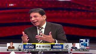 Who is new chairman of MQM P? | Point of View | 12 Feb 2018 | 24 News HD