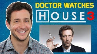 """Real Doctor Reacts to HOUSE M.D. #3 