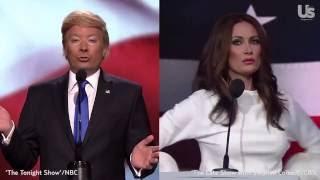 Late-Night TV Mocks Donald and Melania Trump