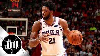 Joel Embiid is the biggest sneaker signee of 2018   The Jump
