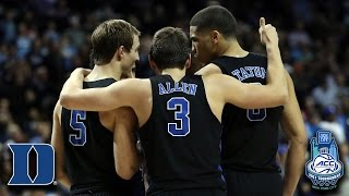 Duke 2nd Half Comeback vs. UNC | Must See Moments of the Tournament