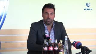 Die Vorstellung des neuen VfL-Trainers Ismail Atalan