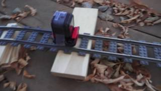 Leaf Blower Powered Lego Roller Coaster