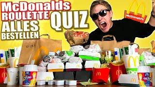 McDonalds Roulette  - ALLES BESTELLEN 2 - QUIZ CHALLENGE