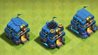 "TOWN HALL 12 GEM TO MAX!! ""clash of clans"" LVL 1-5"