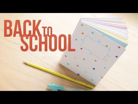 Back to school: как сделать блокнот с нуля