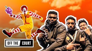We Chilled With Zion, JQ & More As They GAVE BACK To The Kids! McDonald