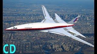 The Forgotten American Concordes - Boeing 2707 - Lockheed L-2000 SST
