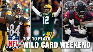 Top 10 Plays of Wild Card Weekend| NFL Network | NFL Total Access