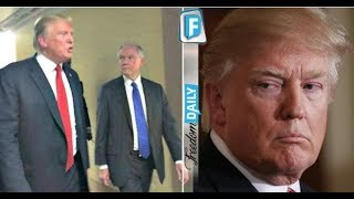 TRUMP GOES ON A RAMPAGE AFTER LEARNING WHAT SESSIONS DID TO BURY BIGGEST SCANDAL IN AMERICAN HISTORY