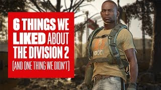 6 things we liked about The Division 2 PvP (and one thing we didn