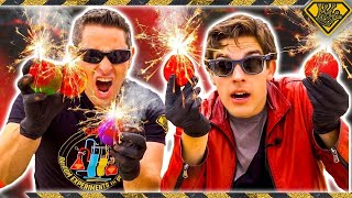 Mad Science: MARIO Fireballs, In Real Life (With MatPat)