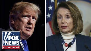 Border wall battle gets petty between Pelosi and Trump