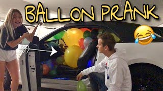 Komplettes Auto voll mit BALLONS 😲 Ich PRANKE Julian 🤣 | BibisBeautyPalace