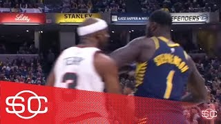 Lance Stephenson brings out all the antics against the Bucks | SportsCenter | ESPN