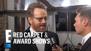 Bryan Cranston Gets Star-struck at 2017 Golden Globes   E! Live from the Red Carpet