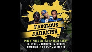 Wu-Tang, Jadakiss, Fabolous And DJ Clue Rip Up The Stage In Brooklyn At The MTN Dew Ice Launch Party