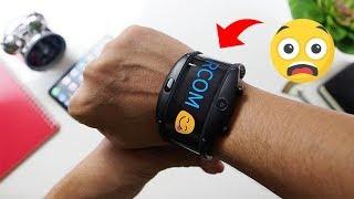 Smartwatch Layar Lentur!! Buka box NUBIA ALPHA Indonesia