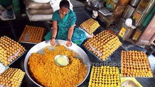 Boondi Ladoo Recipe | Motichoor Ladoo Recipe | Indian Sweet Laddu | How to Make Bondi Ka Ladoo