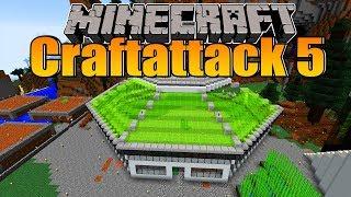 Meine neue Base + Zeitraffer! - Minecraft Craftattack 5 #14