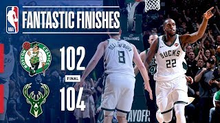 All The Best Moments From The Thrilling Game 4 Between The Bucks and Celtics