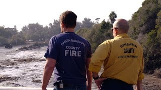 Rob Lowe Visits Devastation in Montecito – Extended Version