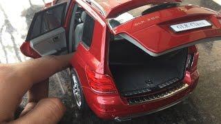 Diecast Unboxing-2014 Mercedes-Benz GLK Class 1/18 Paudi Mercedes-Benz Originals