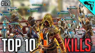 1v9 CLUTCH - For Honor Top 10 Epic Moments & Kills in World