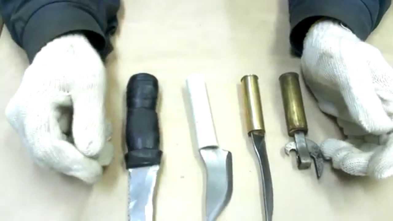 Рукоятки ножей из подручных материалов. Сделать своими руками. - Bayan.Tv - Bayana dair. - Video Portal