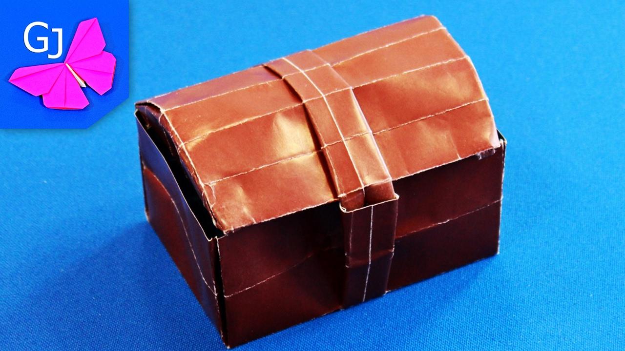 Оригами сундука