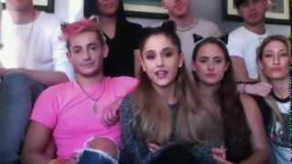 Google: Hangout w/ Ariana Grande 9/30/14