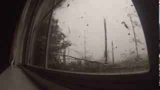 Albany man captures tornado on video.