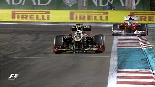 Raikkonen 'Left Alone' To Victory   2012 Abu Dhabi Grand Prix