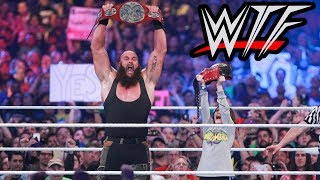WWE WrestleMania 34 WTF Moments | Nicholas, The Undertaker & Brock Lesnar Do Unexpected Things