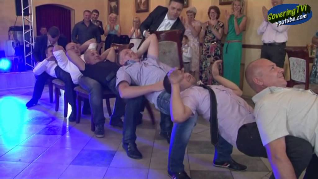 Веселые конкурсы для мужчин на свадьбу