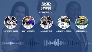 UNDISPUTED Audio Podcast (9.11.17) with Skip Bayless, Shannon Sharpe, Joy Taylor | UNDISPUTED