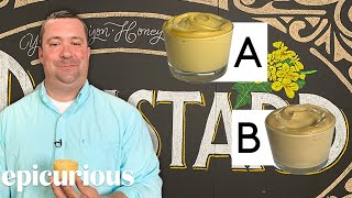 Mustard Expert Guesses Cheap vs Expensive Mustard   Price Points   Epicurious