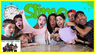 Speed Slime Making Challenge Ft. The Skory