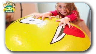 30 KILO RIESEN Emoji GEPLATZT Antistressball Orbeez | Antistressball selber machen Aqualinos #DIY4MS