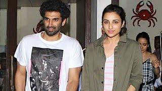 Parineeti Chopra and Aditya Roy Kapur Go On A Dinner Date | Bollywood Buzz
