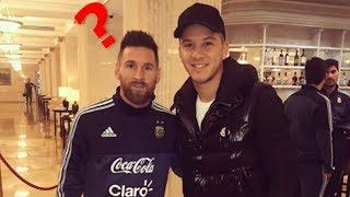 Messi erkennt Nationalspieler nicht !