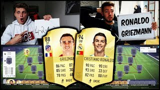 FIFA 18 - RONALDO vs. GRIEZMANN SQUAD BUILDER BATTLE vs. WAKEZ! ⚽⛔️🔥 Ultimate Team Deutsch