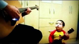 "2 years old amazing baby singing ""Don"