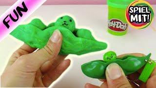 Kawaii Erbse selber machen aus Play-Doh Knete | Super niedlich & einfach | Spielzeug China DIY Idee