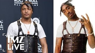 T.I.: Wearing Tupac Inspired Outfit Was A One Time Thing | TMZ Live